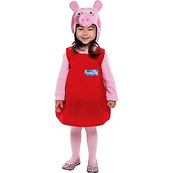 Peppa Pig Toddlers Costume