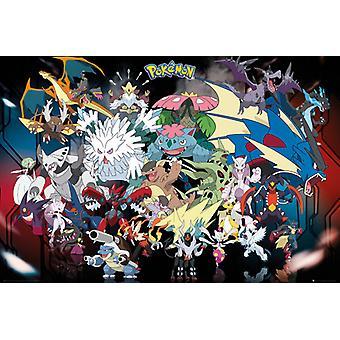Pokémon © mon méga Maxi Poster 61x91.5cm