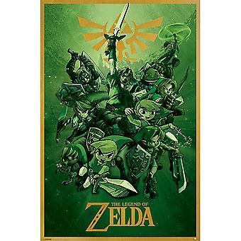 The Legend Of Zelda Link Poster