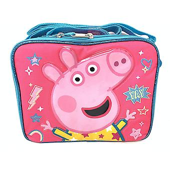 Lunch Bag - Peppa Pig - YAY Rainbow Pink New 202440