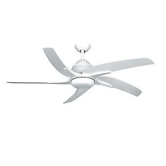 Plafonnier ventilateur Viper Plus blanc avec LED 112 cm/44