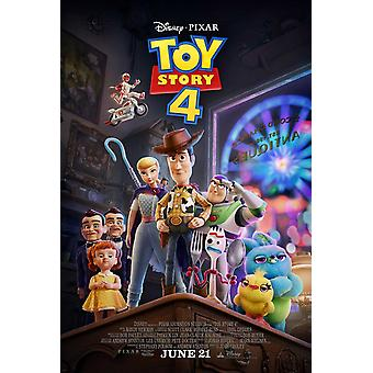 Toy Story 4 Original Movie Poster - Style Final