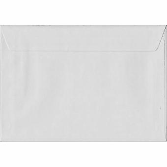 Weiße Schale/Dichtung C6/A6 farbige weiße Umschläge. 130gsm FSC nachhaltigen Papier. 114 mm x 162 mm. Wallet-Stil-Umschlag.
