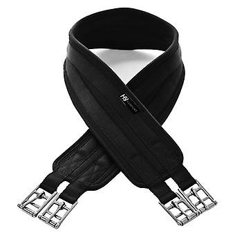 Hy Comfort Equestrian Cushion Comfort Horse Girth - Black