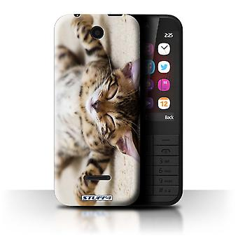 STUFF4 Case/Cover for Nokia 225/Flat Out/Cute Kittens