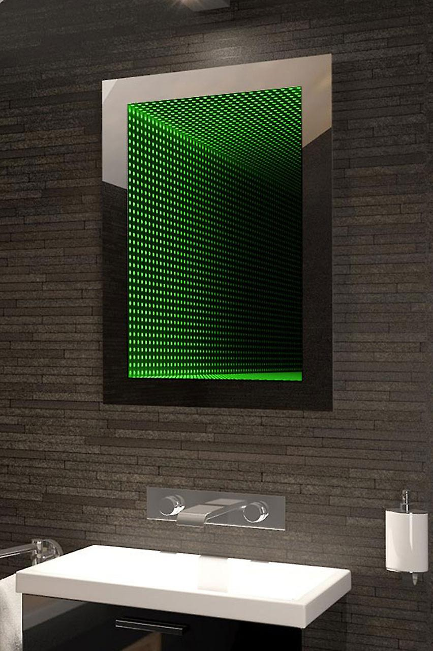 Perfect Reflection Rgb LED Bathroom Infinity Mirror K215vRgb