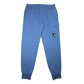 CP Company Blue Watch Viewer Lens Tracksuit Bottoms