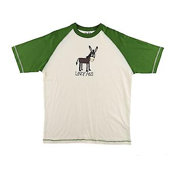 LazyOne Lazy Ass Mens Pyjama T Shirt