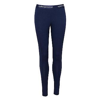 Cyberjammies 4297 vrouwen ' s Harper Navy Blue katoen enkel lengte leggings