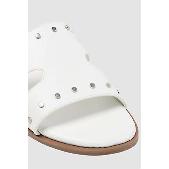 Bar III femei Priscilla Fabric Open Toe casual slide sandale