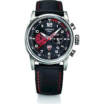 LOCMAN - watch - mens D105A01S-00BKRPKR - DUCATI QUARTZ CHRONOGRAPH