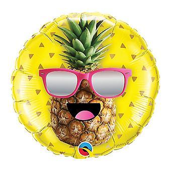 Balão de Foil 260Qs senhor Cool abacaxi em 18