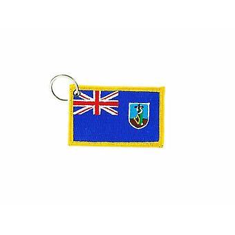 Cle Cles Key Brode Patch Ecusson Badge Flag Monteserrat