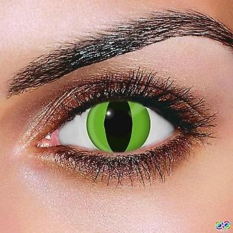 Snake Eye Contacts (Pair)