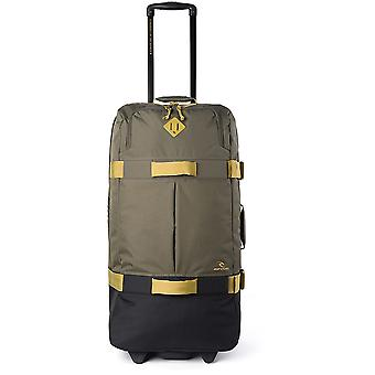 Rip Curl F-Light Global Stacka Wheeled Luggage in Military Green