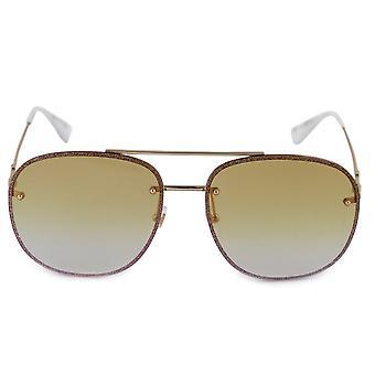 Gucci Aviator Sunglasses GG0227S 005 62