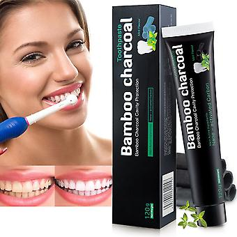 Activated Carbon Toothpaste For White Teeth And Teeth Cleaning Natural Teeth Whitening Black Toothpaste No Chemical Additives Charcoal Whitening