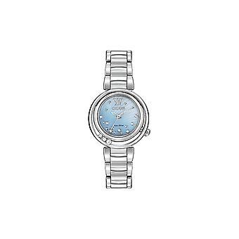 Citizen Ladies Eco-Drive 10 Diamonds DC Watch EM0320-59D