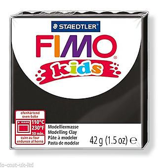 Fimo Kids Modelling Clay, Black, 42 g