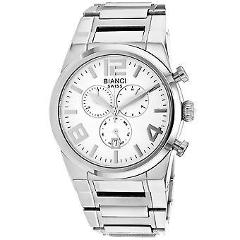 Roberto Bianci Herren's Rizzo Silber Zifferblatt Uhr - RB90731