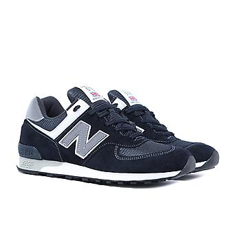 New Balance Made In England M576 Midnight Navy Suede Trainers