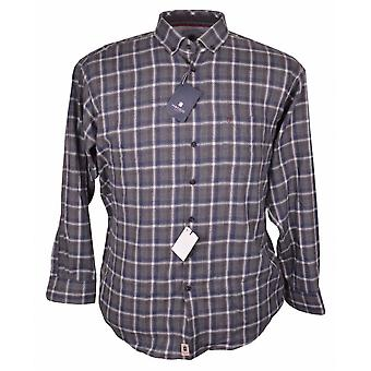 HATICO Hatico Brushed Cotton Check Casual Shirt