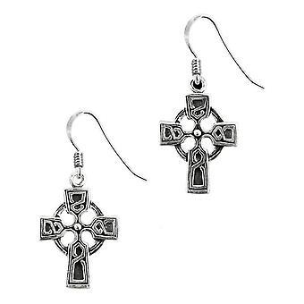 Coppia di orecchini Celtic Cross