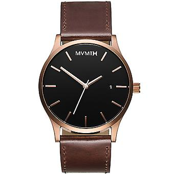 MVMT MM01-RGBL classic rose gold brown 45mm 3ATM