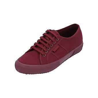 Superga 2750-Cotu klassieke Unisex sneaker Red turn schoenen sport hardloopschoenen