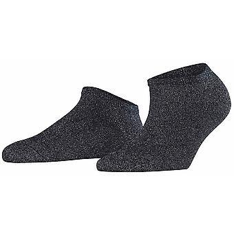 Falke Shiny Sneaker Socks - Dark Navy