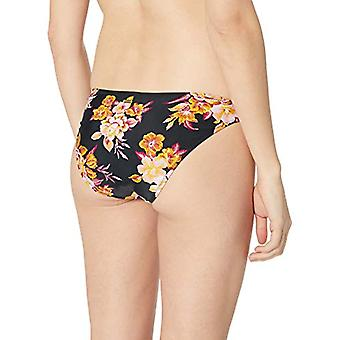 Volcom Women's Garden Hipster Bikini Bottom, Black, Medium
