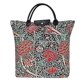 William Morris-el Cray plegable bolsa de compras por signare Tapestry/fdaw-Cray