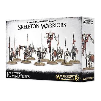 Pelien työpaja-Warhammer Age of Sigmar-Deathrattle Skeleton Warriors