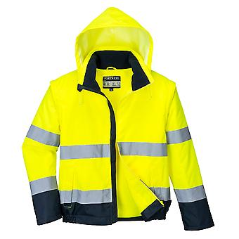 Portwest - Hi-Vis Safety Workwear Essential 2 en 1 Chaqueta
