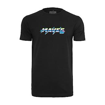 Pink Dolphin Men's T-Shirt Electric Waves