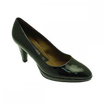 Peter Kaiser Velia zwart lakleer hoge hak Hof schoen