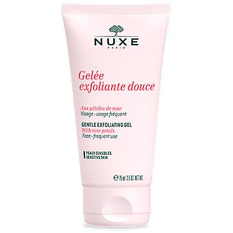 Nuxe Exfoliating Gel with Rose Petals 75 ml (Cosmetics , Face , Scrubs)