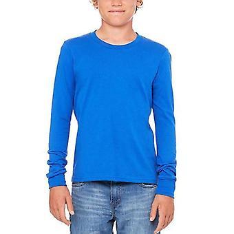 Bella + tela ls jersey youth t-shirt 3501y