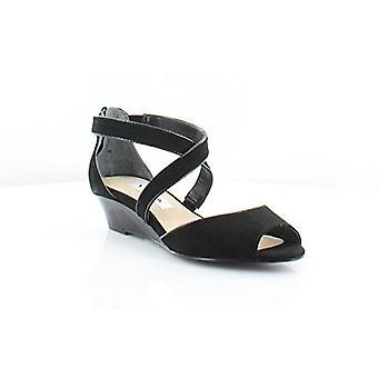 Nina naisten Rhonda Peep Toe rento nilkka hihna sandaalit