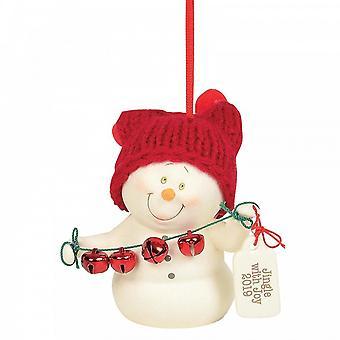 Afdeling 56 Jingle met vreugde 2019 hangend ornament