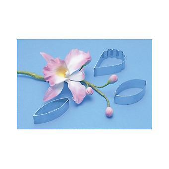 PME 3 kpl Cattleya Orchid Leikkurit