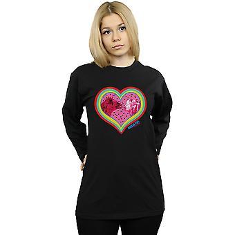 DC Comics Women's Birds Of Prey Love Hyena Boyfriend Fit Long Sleeved T-Shirt