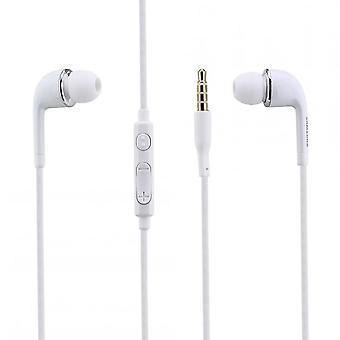 Original EO-EG900BW Samsung Stereo InEar Headphone Headset White for Smartphone with 3.5mm Jack