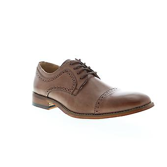 Unlisted by Kenneth Cole Cheer Lace Up Mens Brown Dress Lace Up Oxfords Shoes