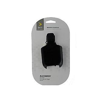 Sprint pyörivä Holster Clip BlackBerry Style 9670-musta