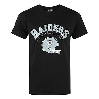 New Era NFL Oakland Raiders Vintage Casco Hombres's Camiseta
