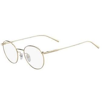 Calvin Klein CK5460 714 Złote okulary