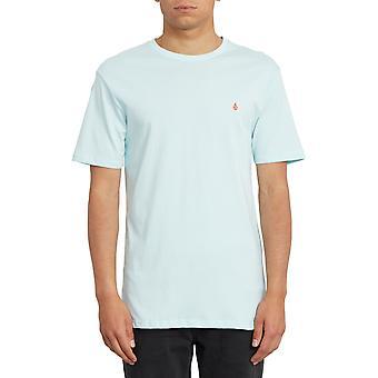 Volcom Stone Blanks Kort ärm T-shirt i Harts Blå