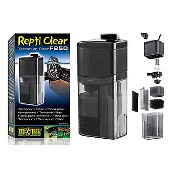 Exo Terra Filter for Terrarium Repti Clear
