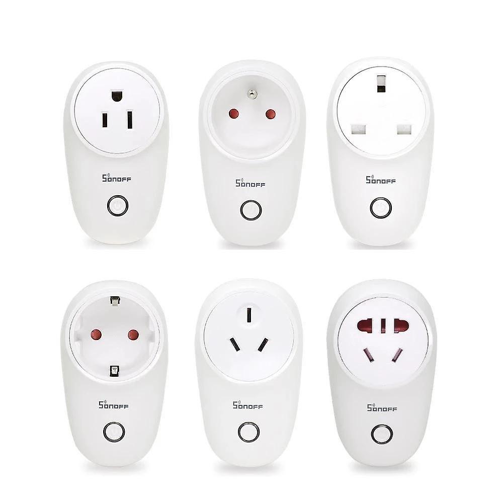Wifi smart wireless home power sockets